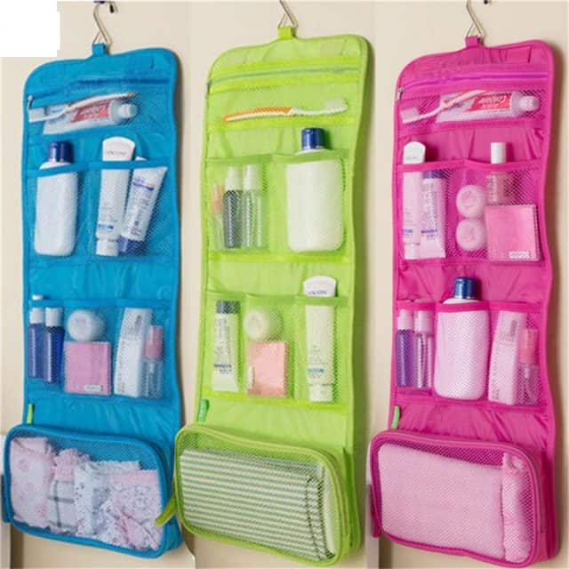 Hanging Cosmetic Travel Bag