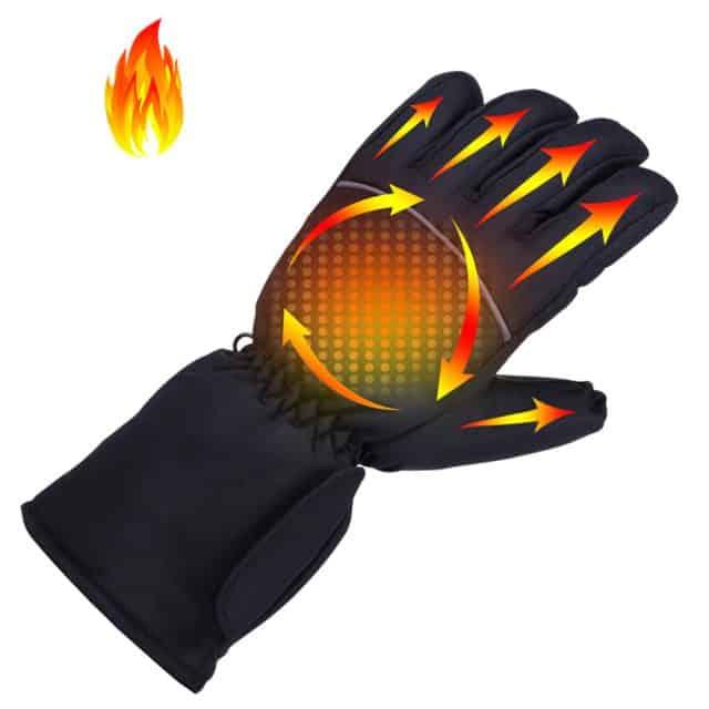 Battery Heated Waterproof Gloves