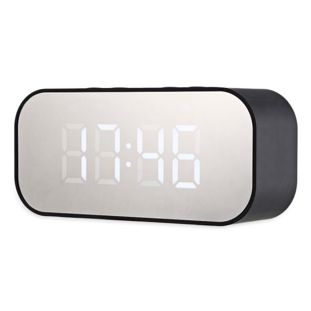 Bluetooth Stereo Speaker With LED Alarm Clock