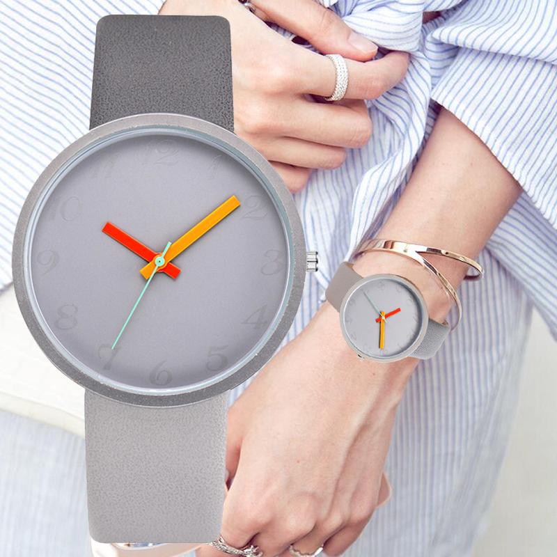Women Two-Tone Contrast Watch 1