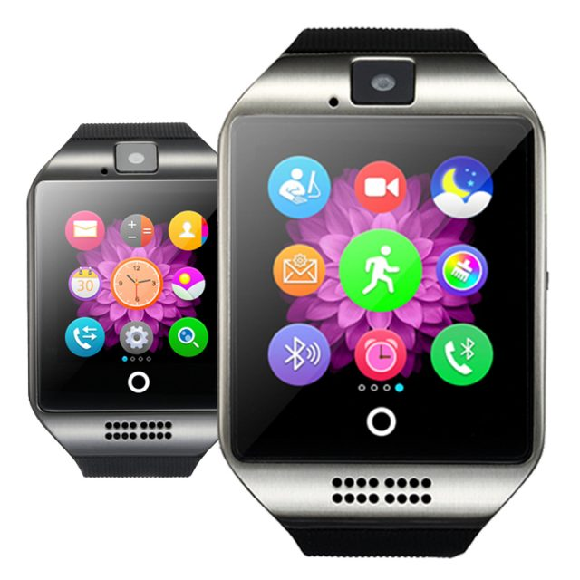 Bluetooth Smart Watch (Supports SIM/TF Card)